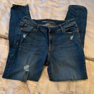 Old Navy Rockstar Distressed Jeans sz10